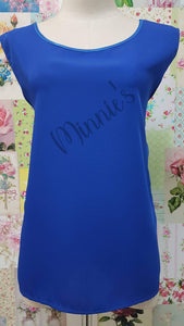 Royal Blue Top BK0470