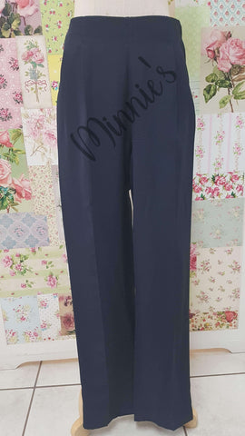 Navy Long Pants BK0318