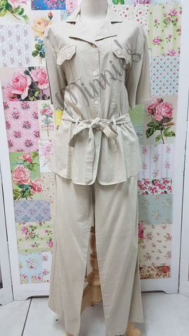 Stone 2-Piece Pants Set BS0143