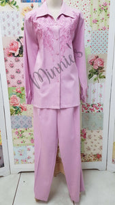 Pink 2-Piece Pants Set BS099