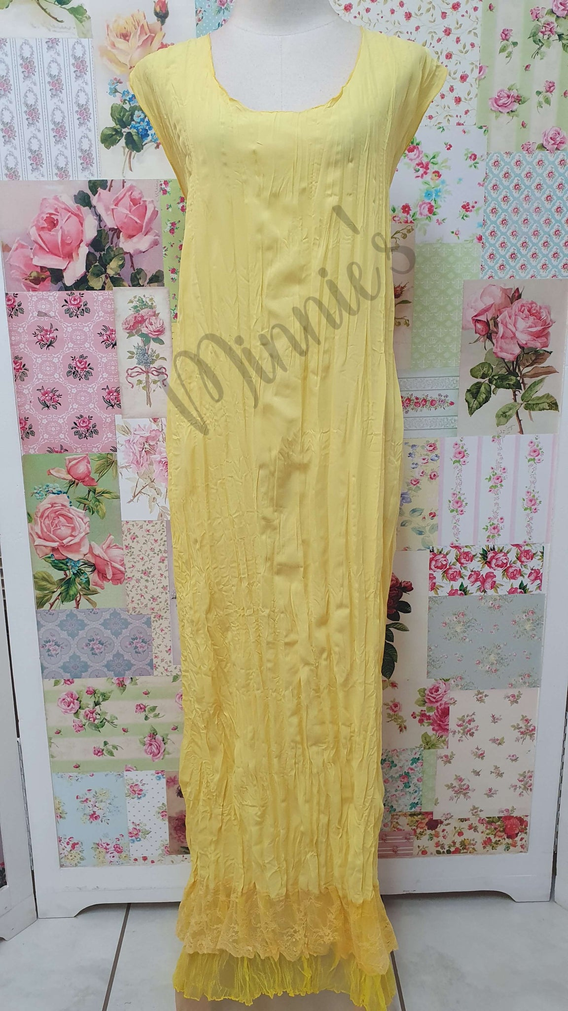 Yellow Dress LR035