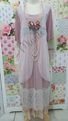 Pastel 4-Piece Dress Set ML046