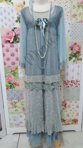 Duck Egg Blue 3-Piece Dress ML044