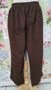 3/4 Brown Pants BK0342