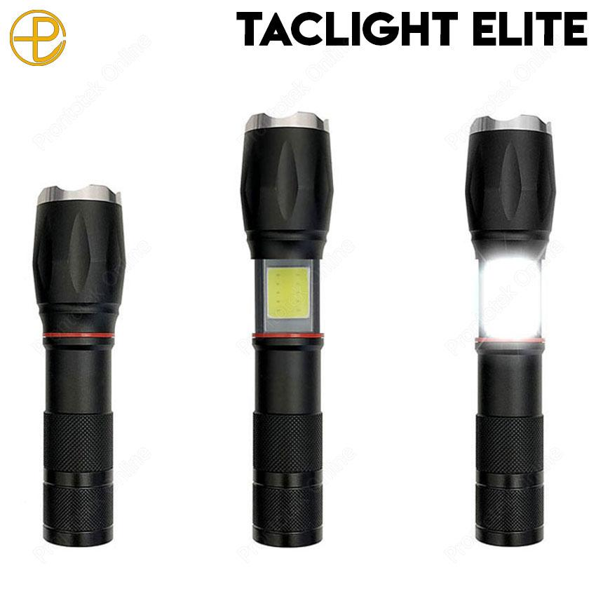 Taclight Elite Extendable Flashlight And Lantern In One with Magnetic Base