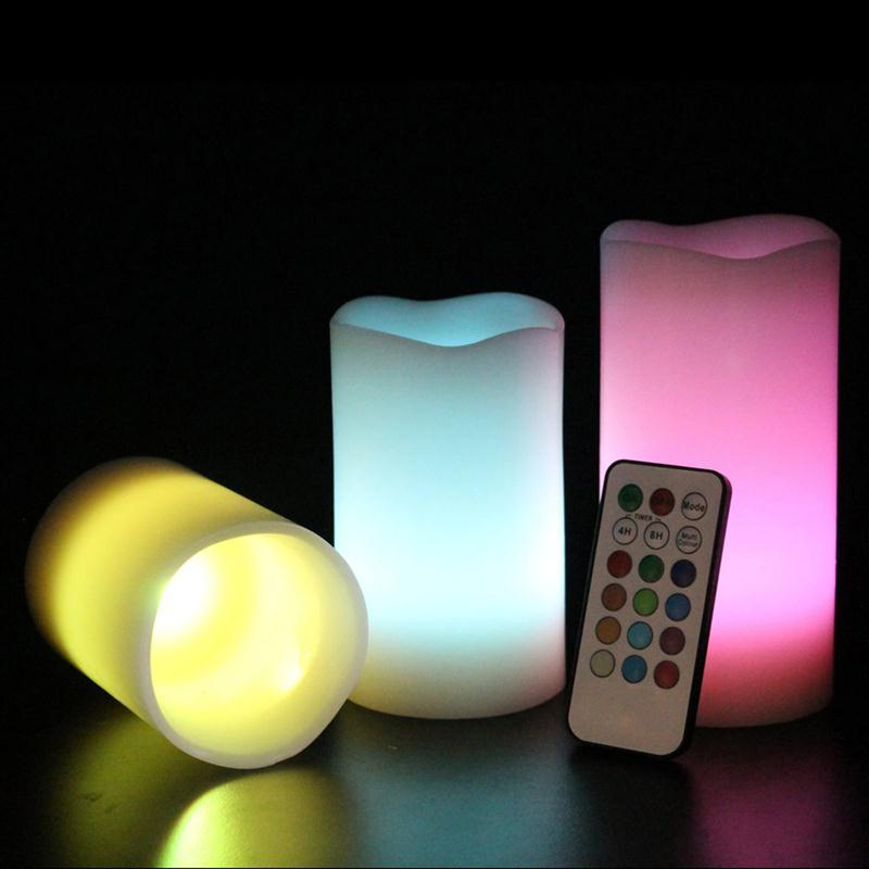 Glow Candles 3pcs set