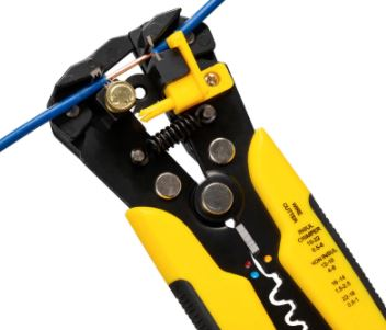 3 in 1 Stripping Pliers Crimper Cable Cutter Automatic Wire Stripper