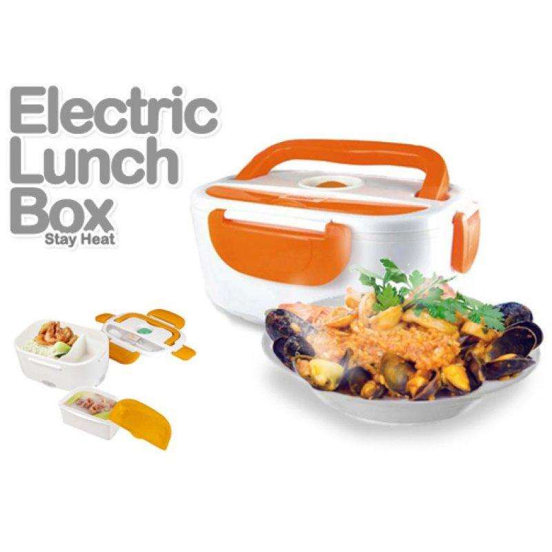Multi-Functional Electric Heating Lunch Box with Handle - random color