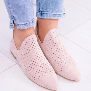 Flat  Velvet  Point Toe  Date Outdoor  Ankle Ankle Boots