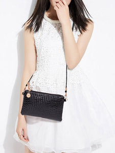 Crocodile Pattern Crossbody Bags