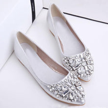 Plain  Flat  Point Toe  Date Office Flat & Loafers