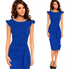 Womens Work Business Casual Party Bodycon Pencil Dress