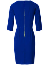 Surplice  Plain  Blend Bodycon Dress