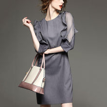 Mule Sleeve Large Size Fashion Dress
