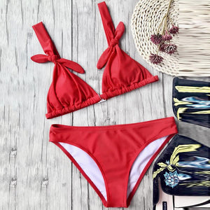 Cute Bow-Knot Sexy Bikini Set