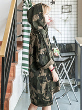 Camouflage  Long Sleeve Hoodies