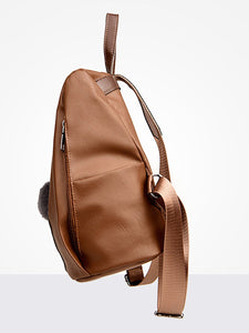 High Quality Pu  Overall Backpacks