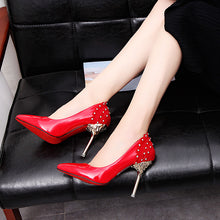 Sexy Fashion Pointed Toe Rhinestone Shoes