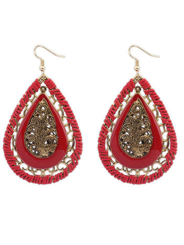 Bohemian Style Glass Earrings For Women