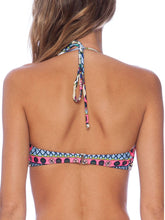 Backless  Abstract Print Bohemian  High-Rise Bikini
