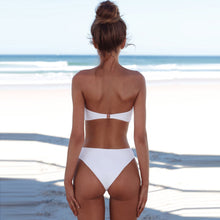 Sexy Pure Color Two-Piece Swimwear