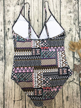 Backless  High Stretch  Bohemian One Piece