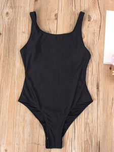 Sexy And Plain Plain One Piece For Women