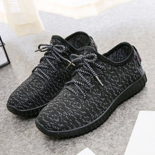 Flat  Mesh  Criss Cross  Round Toe  Casual Sport Sneakers