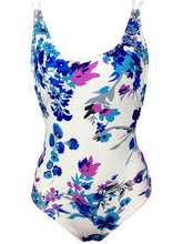 Deep V-Neck  Bohemian Printed One Piece For Women