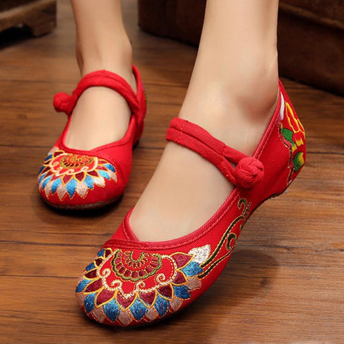 Plain  Invisible  Low Heeled  Ankle Strap  Round Toe  Casual Flat & Loafers
