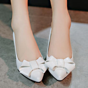 Plain  Stiletto  High Heeled  Point Toe  Date Office Pumps