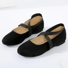 Plain  Flat  Velvet  Ankle Strap  Round Toe  Casual Date Flat & Loafers