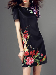 Floral Bodycon Dress