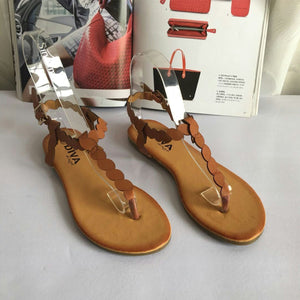 More Colors Adjustable Buckle Wedge Sandals Shoes