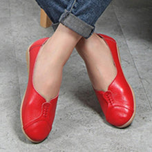 Plain  Flat  Round Toe  Casual Date Flat & Loafers