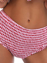 Plaid  High-Rise Bikini For Women
