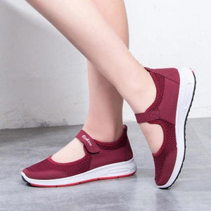 Fashionable Mesh Fabric Comfortable Shoes