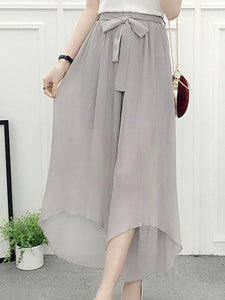 New Style Plain Casual Pants For Women