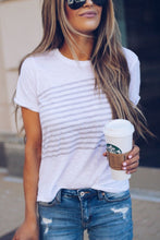 Round Neck  Printed T-Shirts