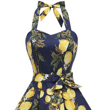 Flower Prited Summer Feeling Skater Dresses