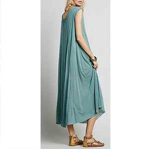 Pure Large Size Soft Maxi Dress