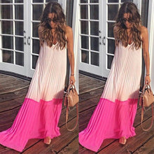 Casual Beach Chiffon Maxi Dress