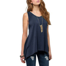 Pure Sleeveless Vest Woman Tops