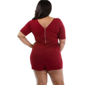 Plus Size V Neck Woman Summer Bottom