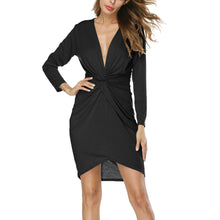 Sexy Special V Neck Woman Bodycon Dress
