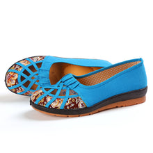 Floral  Flat  Round Toe  Casual Date Comfort Flats