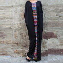 Fashion Woman Round Neck Long Maxi Dress