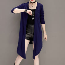 Large Size More Colors Woman Plain Coats