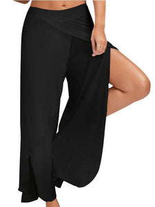 Sports Fitness Yoga Wide Leg Pants