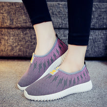 Color Block  Flat  Round Toe  Casual Sneakers
